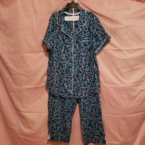 2X Secret Treasures capri pajama set